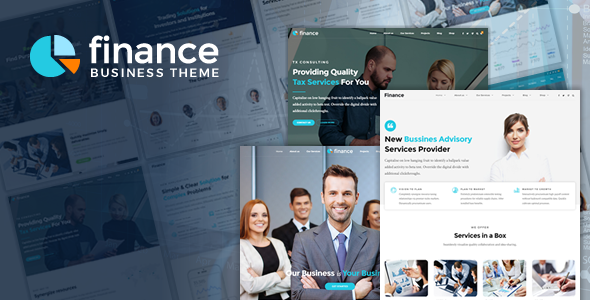 Finance | Accounting, Consulting & Finance Business WordPress Theme