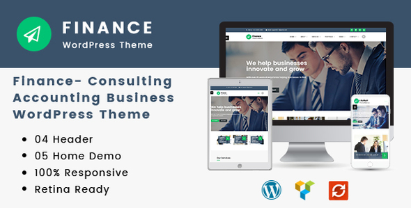 Finance | Consulting, Accounting WordPress Theme