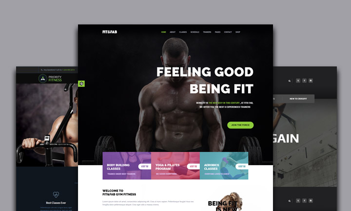 Best WordPress Fitness Themes for Gyms, Personal Trainers, Fitness and Crossfit Groups