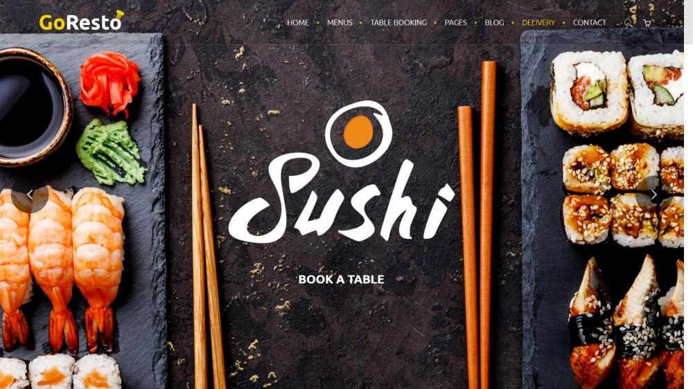 20 Asian Food Sushi Wordpress Themes For Asian Restaurants