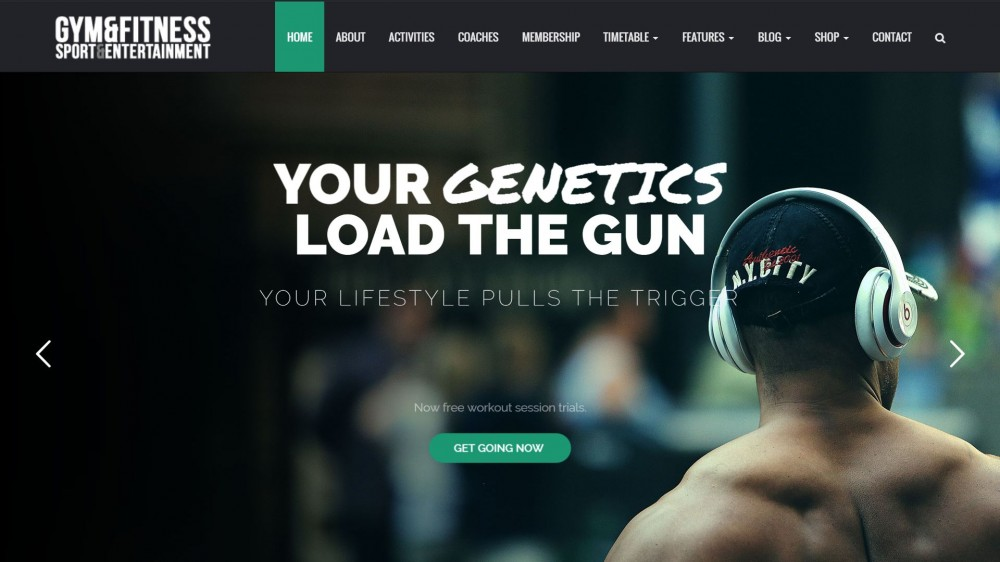 Gym - Fitness & Sports WordPress Theme