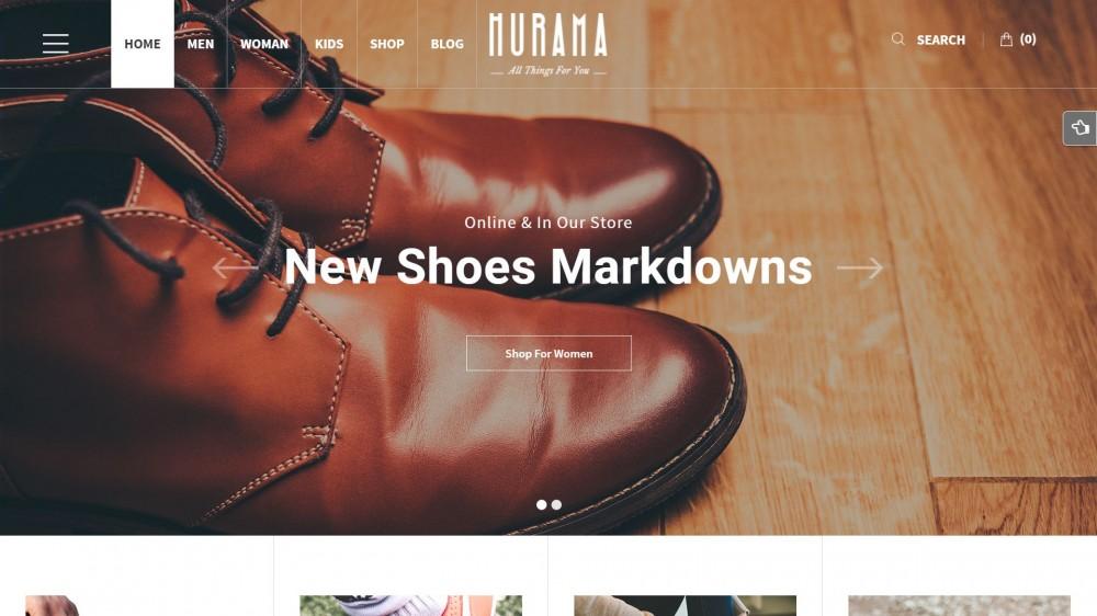 migliori scarpe da ginnastica taglia 7 acquista il più recente 30+ Elegant WooCommerce Themes for Shoes, Bags or Fashion Stores