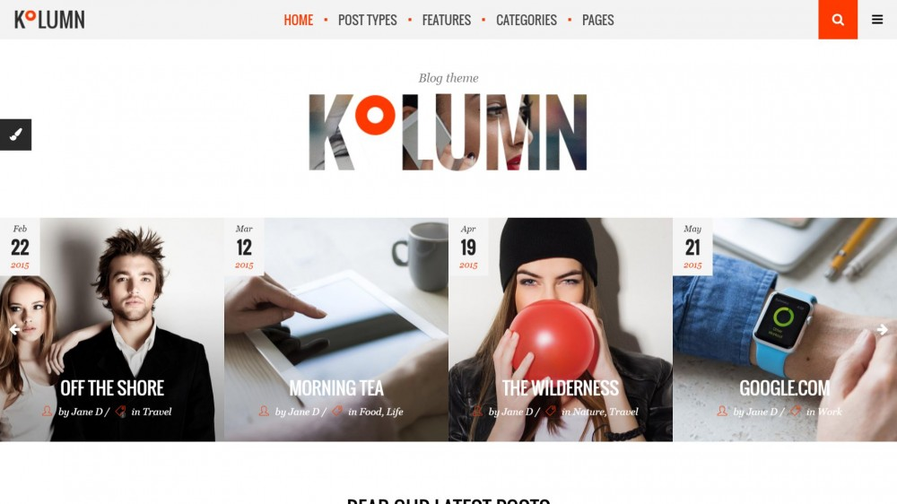 Kolumn - Awesome Dark Design Theme