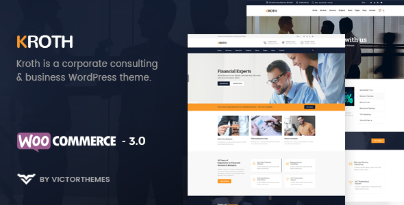 Kroth | Business/Consulting WordPress Theme