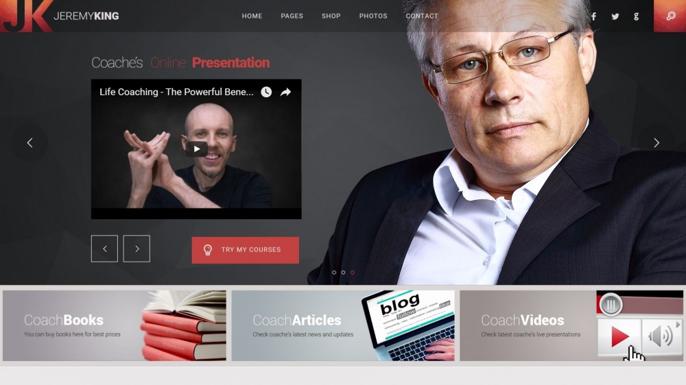 Life Coach - Celebrity News WordPress Theme