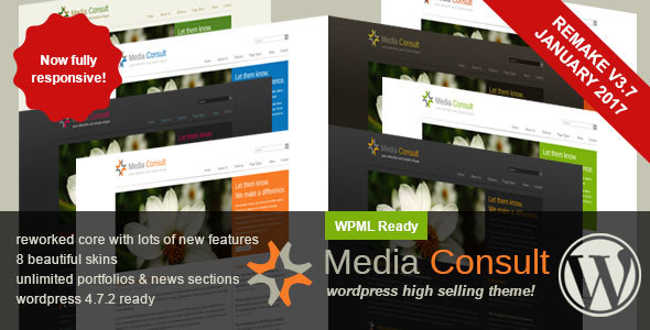 Media Consult | Business WordPress Theme