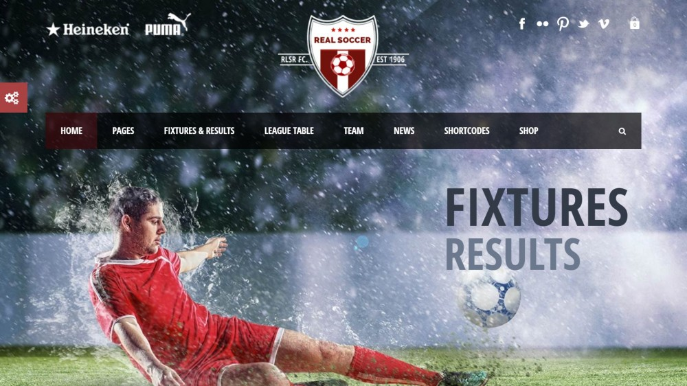 Real Soccer - Sport Clubs Responsive WordPress Theme