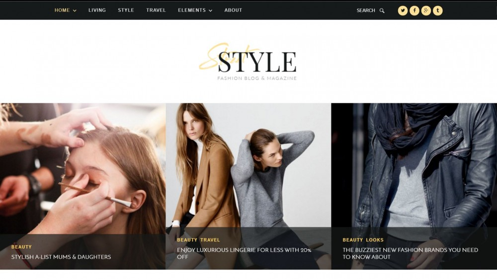 Street Style - Elegant Fashion Wordpress Theme