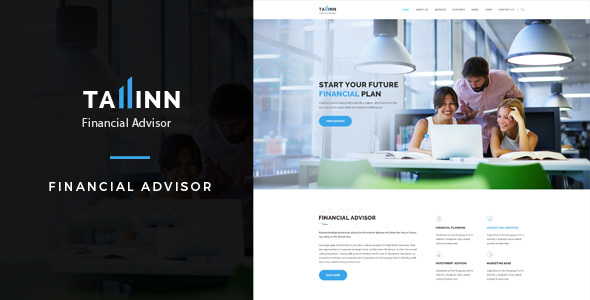 Tallinn | Business and Consultancy WordPress Theme