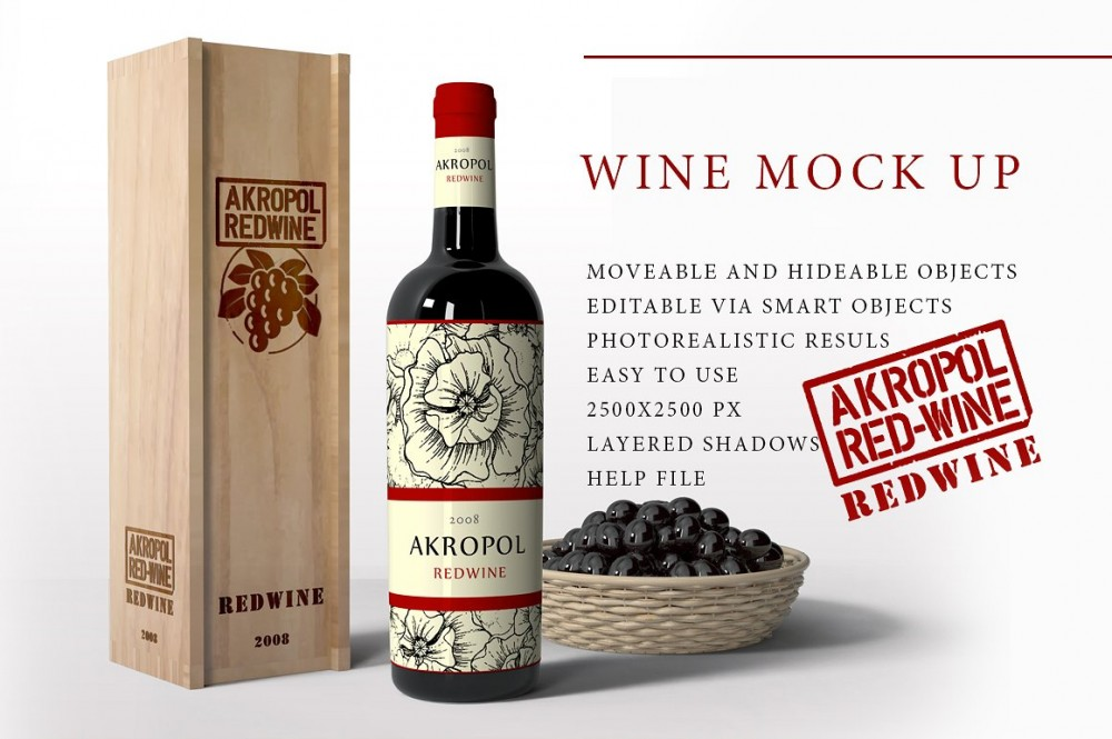 Wine Mock Up