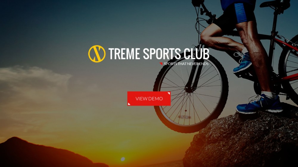 Xtreme Sports - Responsive WordPress Theme