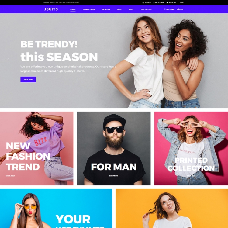 Jsuits - Clothing Multicurrency Fancy Shopify Theme
