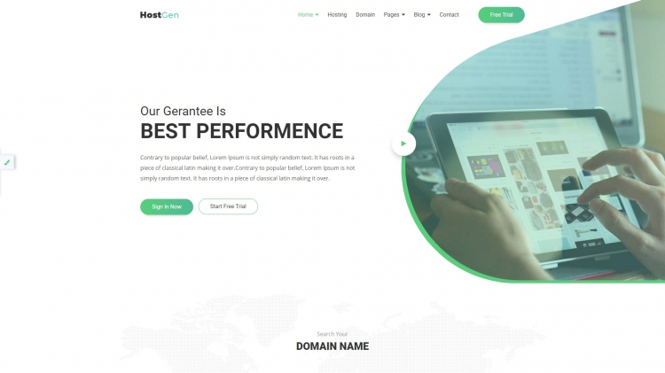 Best HTML Templates for Web Hosting Provider Companies