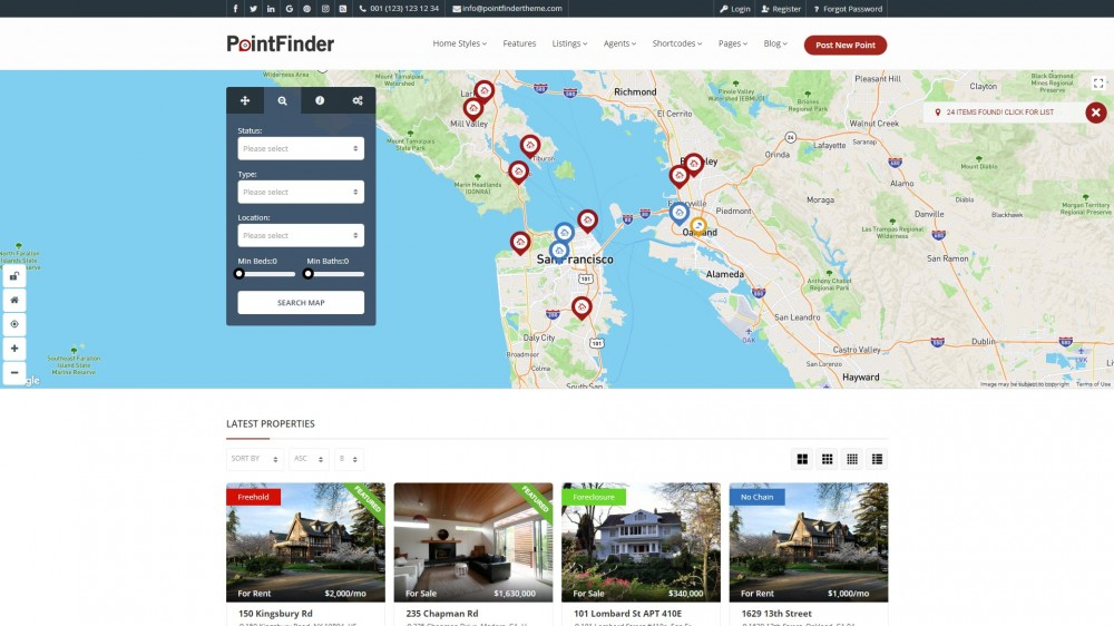 Best Airbnb Booking WordPress Themes 2019