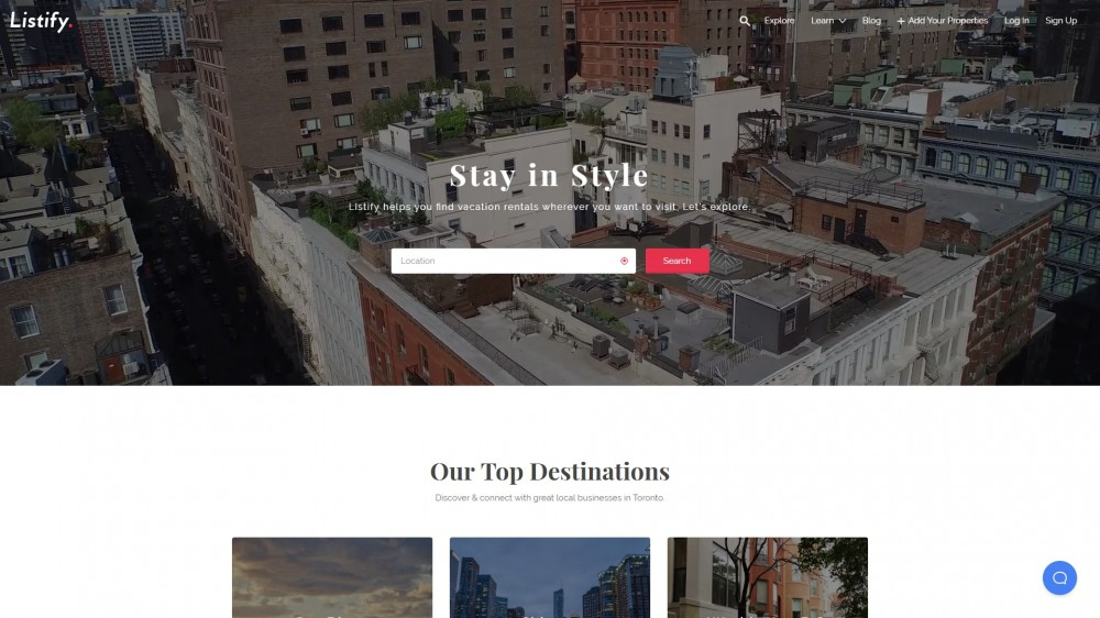 Best Airbnb Booking WordPress Themes 2019