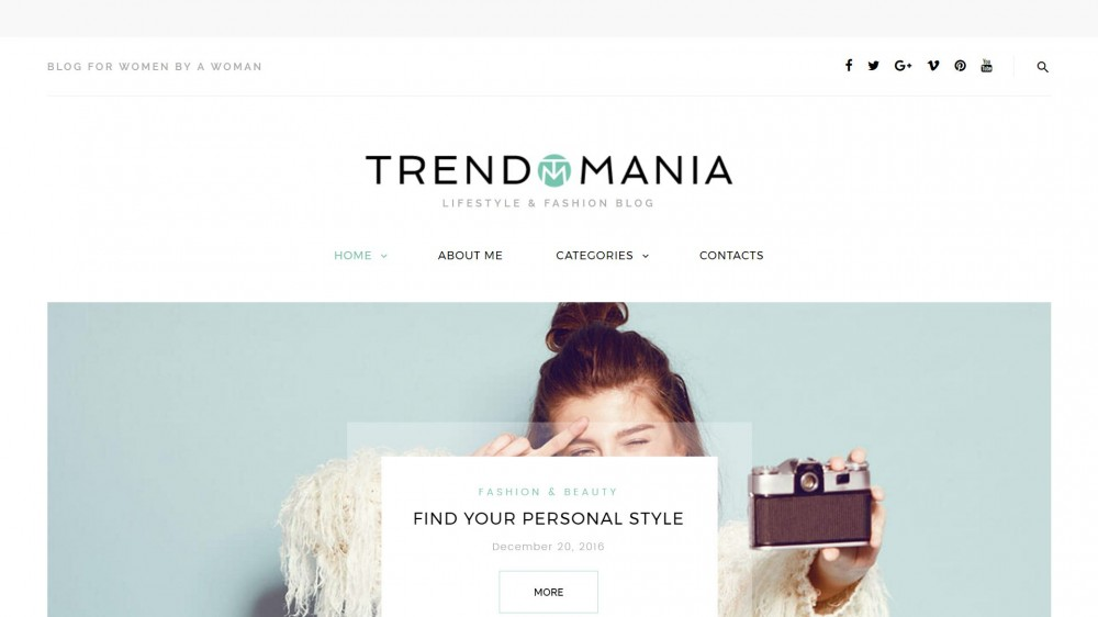 20+ Girly and Feminine WordPress Themes for Personal Blogs