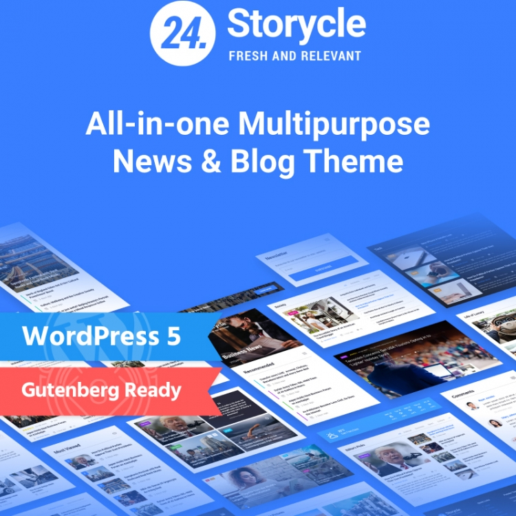 25+ Magazine WordPress themes of 2019