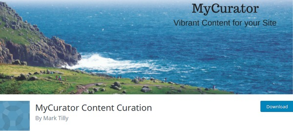 MyCurator Content Curation