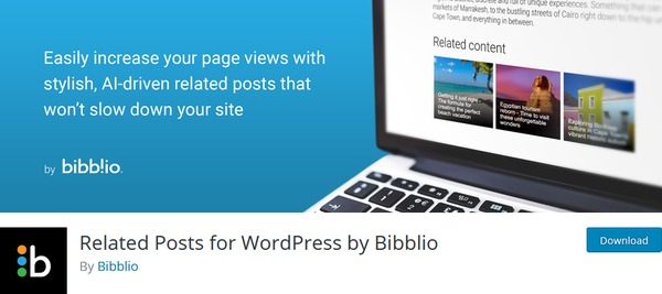 Related Posts for WordPress by Bibblio